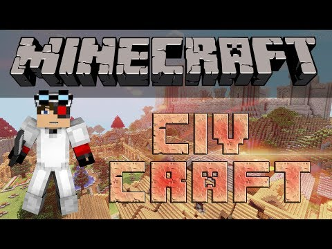 "Minecraft: CivCraft PVE Фармим на T3 бронь ""ускоренно"""