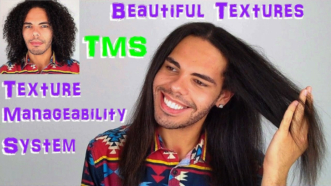 how to add texture to straight hair male