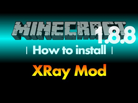 How to install XRay Mod 1.8.8 for Minecraft 1.8.8 (with download link)