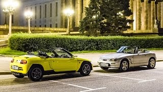 Honda Beat vs Suzuki Cappuccino