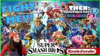 last stream before the 24/7 marathon!!!!!  👅| RACE ME Mario Kart 8 Deluxe (after Smash 4)