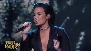 Demi Lovato - Stone Cold (Live at Billboard's Women In Music)