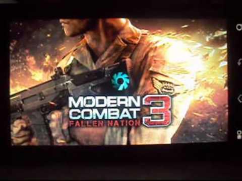Top 3 De Los Mejores Juegos Gameloft Android [2012