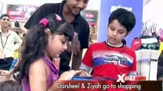 Darsheel and Ziyah Go Shopping