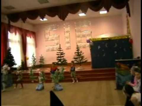 Новогодний праздник в начальной школе. Часть 1