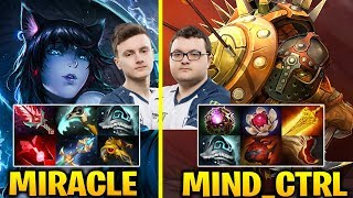 MIRACLE vs MINDCONTROL - CRAZY MADNESS GAME Dota 2 7.17