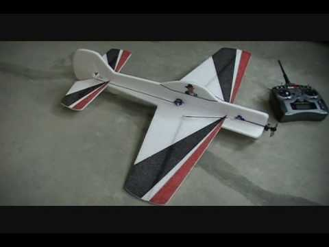 3D Yak 55 EPP Maiden!