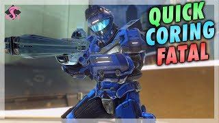 Quick Coring Fatal (Adamant) On Warzone Assault! - Halo 5: Guardians