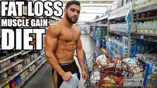 My Diet Meal By Meal | Eating For Fat Loss and Muscle Gain