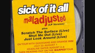 Watch Sick Of It All Maladjusted video