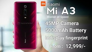 Xiaomi Mi A3 5G Introduction - Launch Date, Price, Camera, Specifications In India   Mi A3