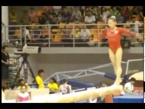 Самые сложные комбинации в спортивной гимнастике 4