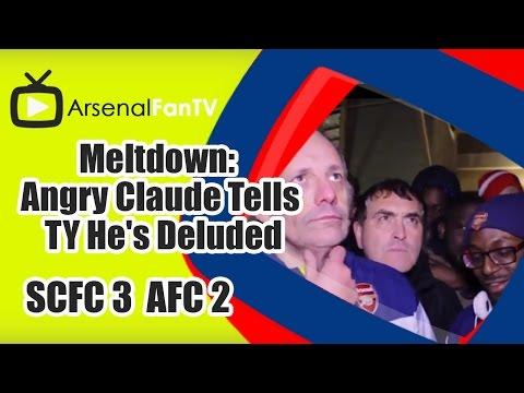 Meltdown: Claude Tells TY He's Deluded - Stoke City 3 Arsenal 2 FOOTBALLFANAGER: http://goo.gl/ZzqR8h DONATE TO MOVEMBER: http://goo.gl/0qTjli AFTV ONLINE SH...