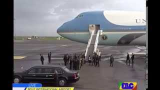 U.S. President Barack Obama arrived in Addis Ababa Bole International Airport