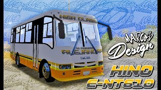 Encava E-NT610 HINO/18 Wos Haulin
