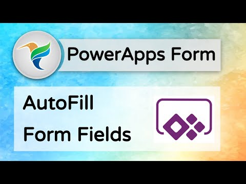 Auto Fill SharePoint List Form Fields using MS PowerApps