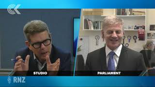 Bill English reflects on 28 years in Parliament