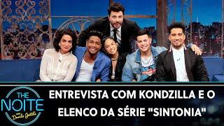 """Entrevista com Kondzilla e o elenco da série """"Sintonia""""    The Noite (07/08/19)"""