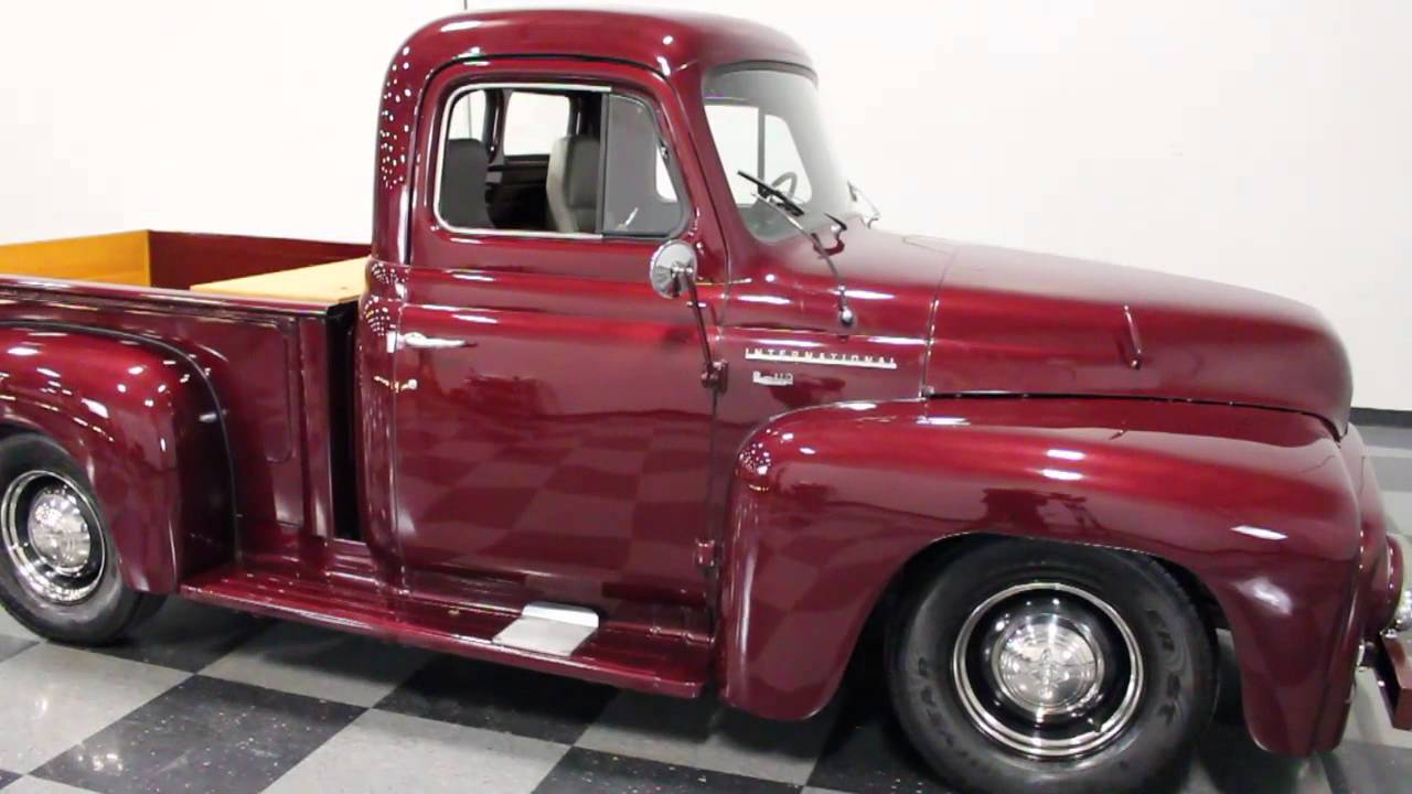 International Pickup Truck For Sale >> 1739 ATL 1953 International Truck - YouTube
