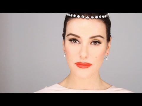 Audrey Hepburn - 1950's Inspired Makeup Tutorial