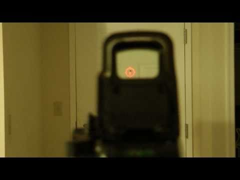 Is the EOTech 557 Really 100% Parallax Free? NOTE: In this video the EOTech ...