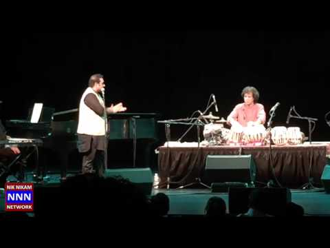 Shankar Mahadevan and Zakir Hussain Houston 2015 F NNN