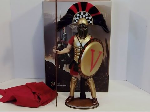 ACI Toys 1/6 Scale Figure Warriors Greek Hoplite Version D Unboxing and Review