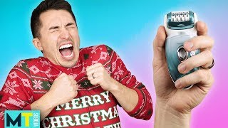 Men Try The Worst (or Best?) Gift Ideas From Amazon