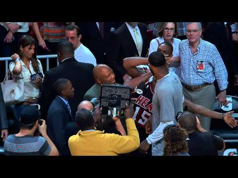LeBron James Gets Videobombed by Chris Bosh and Mario Chalmers