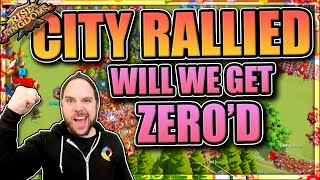 OUR CITY GETS T5 RALLIED... FOUR TIMES (we buy $100 FATE CHANGER) | Rise of Kingdoms