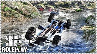 GTA 5 Roleplay - Sunken Truck Underwater in the River | RedlineRP #372