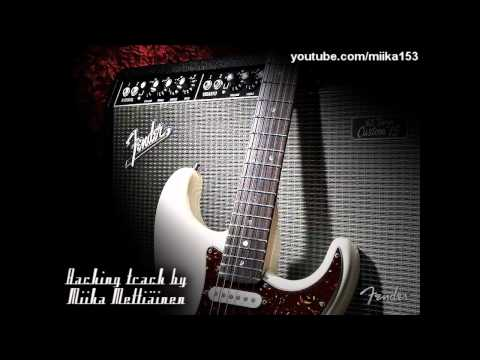 Dark Blues Classic Rock Backing Track In C#m For Guitar video
