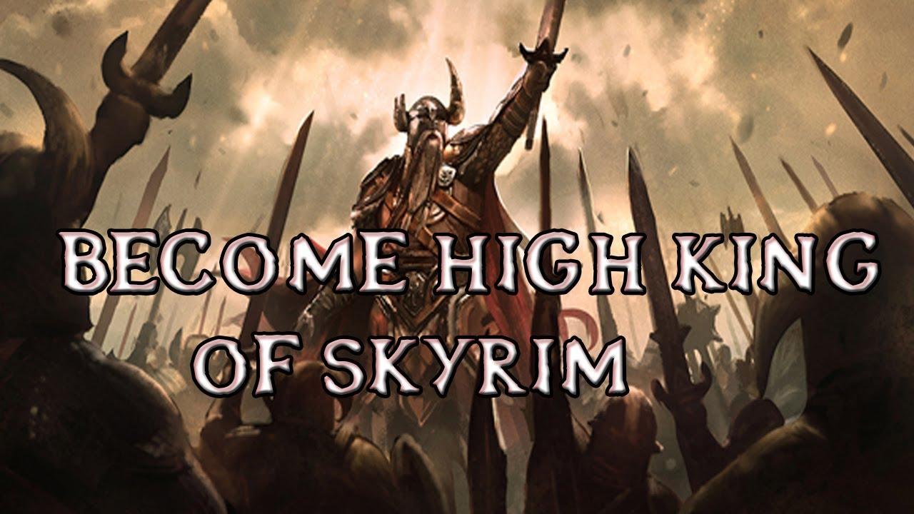 King Armor Skyrim Mod Skyrim Mods Become High King