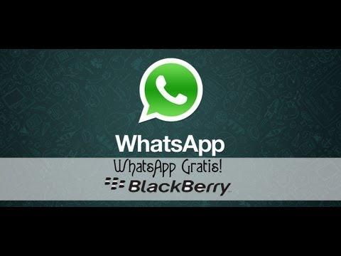 Whatsapp gratis para Blackberry 8520 Telcel