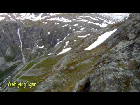 Trollstigen Sightseeing - Wingsuit proximity flying by Tiger Odd-Martin