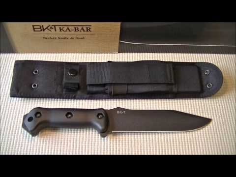 Ka-Bar Becker BK7 Knife Overview and First Impressions.