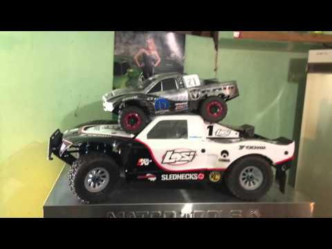 Losi 5ive T initial review Size comparisons