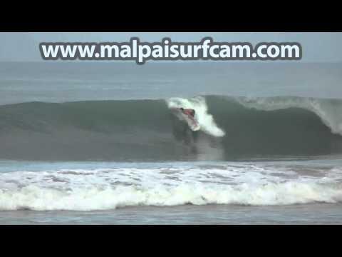 Surfing Costa Rica, www malpaisurfcam com 07 04 15 Mal Pais Santa Teresa