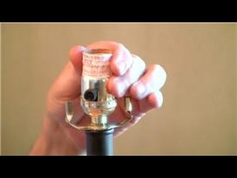 Home Help How To Replace A Lamp Socket Youtube