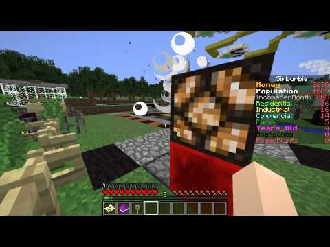 """Minecraft Sim City! Simburbia Ep 08 - """"Another Perfect Day As Mayor!!!"""""""