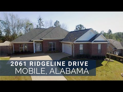 2061 Ridgeline Dr Mobile AL. 36695 Homes For Sale