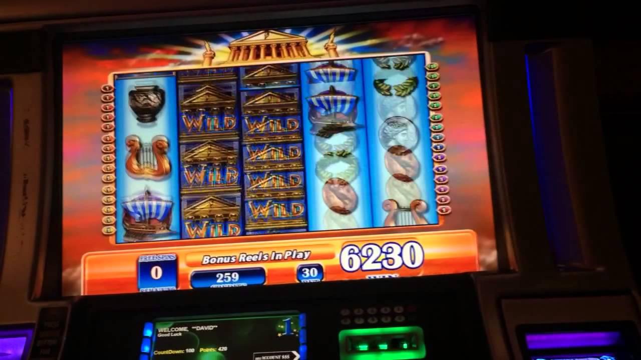 Zeus Jackpot Hand Pay High Limit Slot Machine Jackpot 15