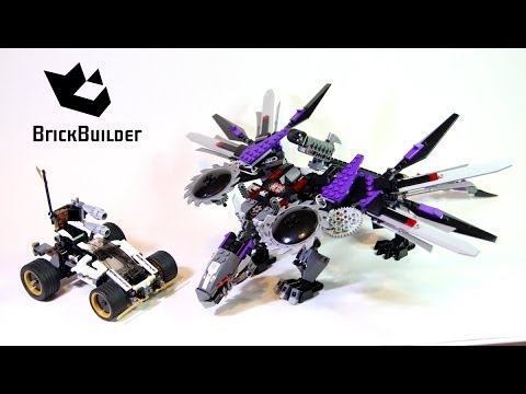 Lego Ninjago 70725 Nindroid MechDragon - Lego Speed build