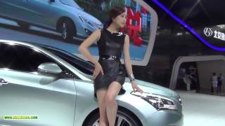 Hot Girl Model In Car Show, Car Event 2015 Part 96