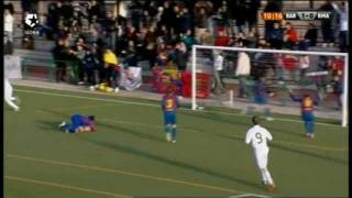 FC Barcelona 2 - 3 Real Madrid Semifinal Torneo futbol 7 Alevin 2011