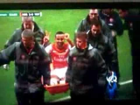Theo Walcott trolling Spurs fans