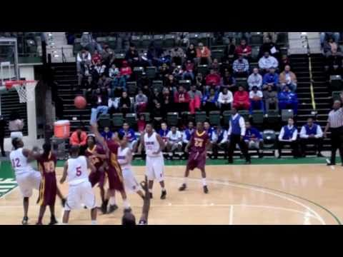 Cliff Alexander Curie Chicago 2014 v Keifer Sykes Marshall 2/13/11 highlights