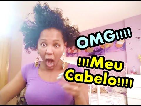 VLOG - CABELO CRESCER - HAIRFINITY-  1º BANHO DO KIKO #VEDA22