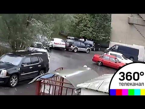 Как разбить 5 машин за 20 секунд? Видео