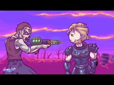 Fallout Fail. мульт по игре Fallout (рус. озвучка)